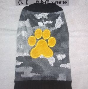 NEW Dog Sweater, Size Small